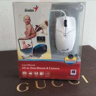 Genius Cam Mouse 時尚創新款相機-攝影機 2 合 1全功能藍光滑鼠