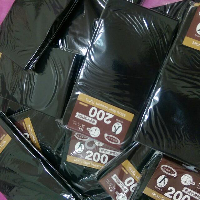 200丹 熱銷褲襪5雙(台製)