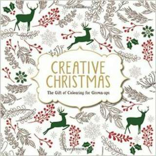 Creative Christmas Coloring Book For Grown Ups