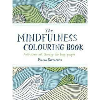 Mindfulness Coloring Book For Busy People