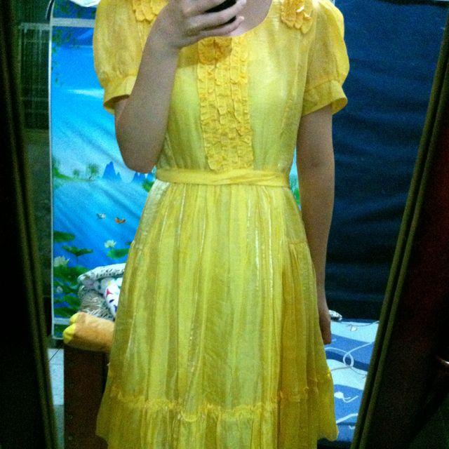 一個有點公主概念的洋裝