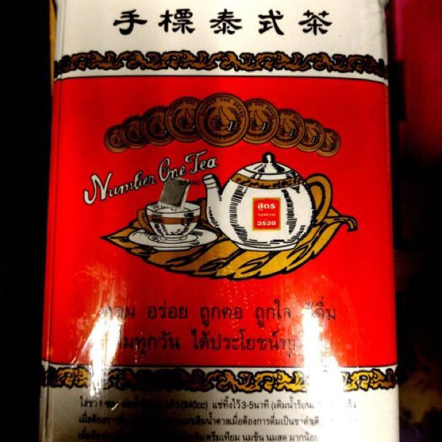 泰國 泰式奶茶 手標紅茶