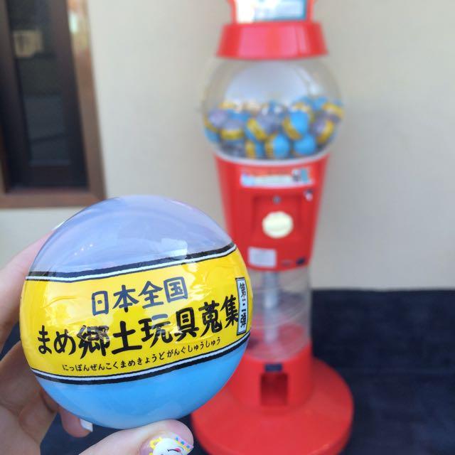 日本鄉土玩具 扭蛋 和歌山/千葉 款 日本限定 轉蛋