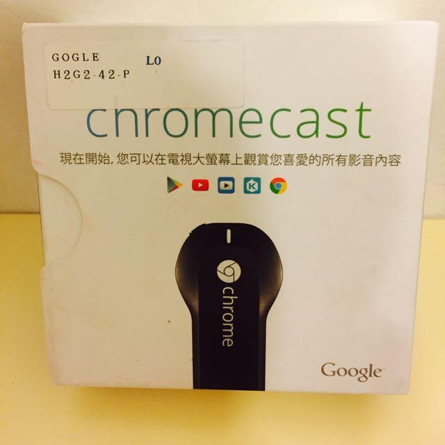 電視棒 Chromecast 全新