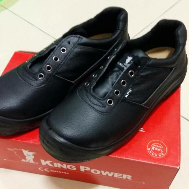 (全新) King power工作安全鞋