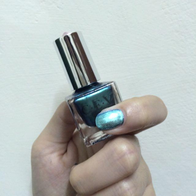 C.E.V 鐳射指甲油 鐳射綠