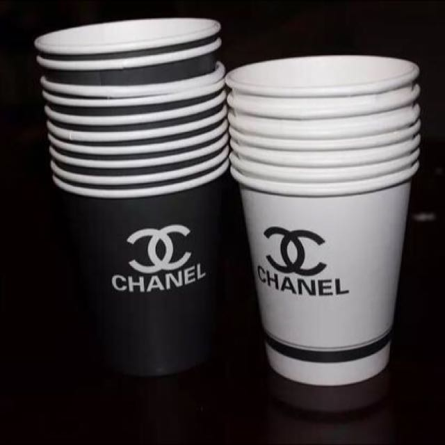 4e8fdaa3a8e Chanel Paper Cups, Everything Else on Carousell