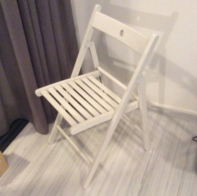 & IKEA TERJE Folding Chair Furniture on Carousell