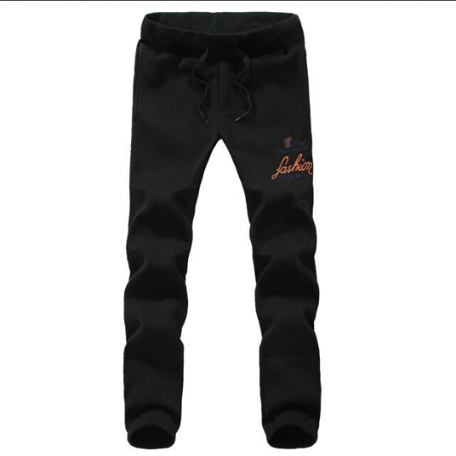 d78ddb19b5f1c4 Men Pants Embroidered standard Sweatpants Men Jogger Pants Military ...