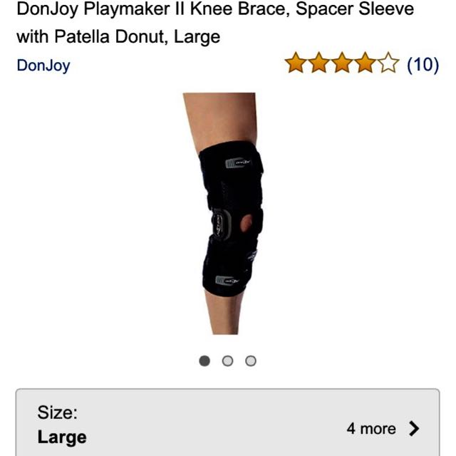 6f5240c834 Knee Brace Donjoy Playmaker II Metal Brace. Better than ordinary ...