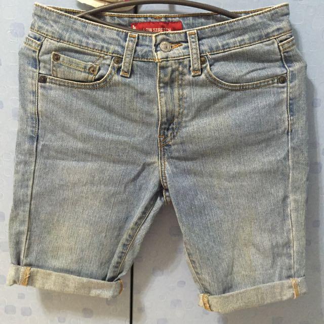 Levis牛仔褲 短W28