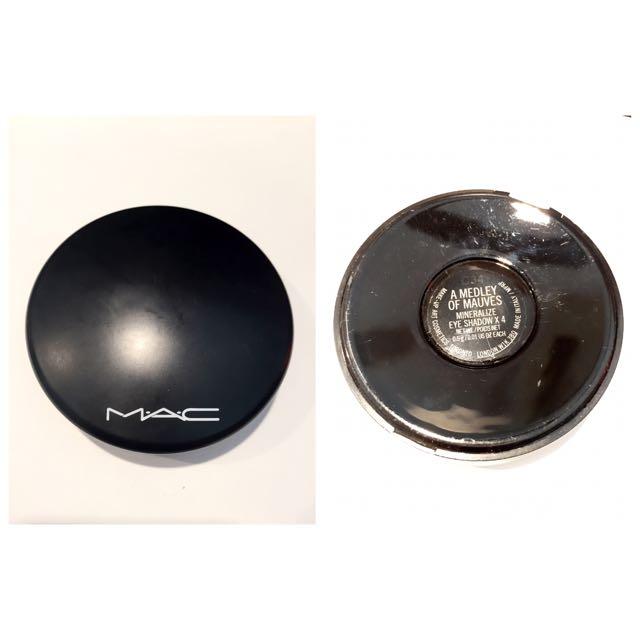 (保留)MAC 柔礦4色眼影盤 含運