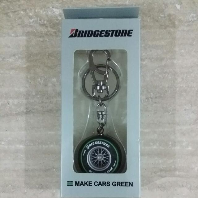 Brand New Bridgestone F1 Tyre Keychain Cars On Carousell