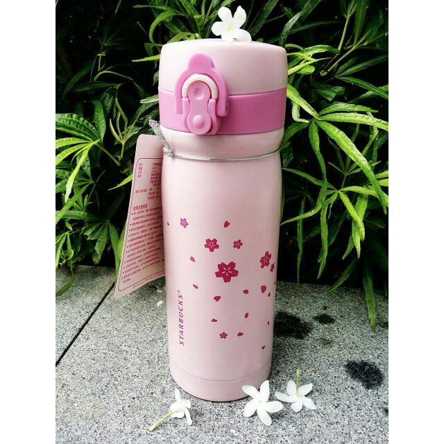 Sakura Series Starbucks thermal flask tumbler ( cheapest in town! )