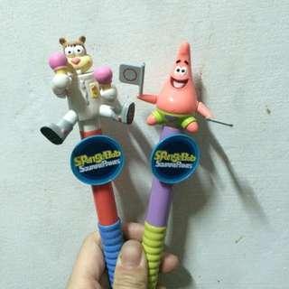 全家✨海綿寶寶造型筆