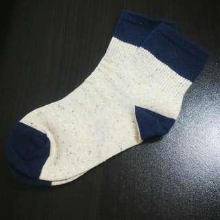 韓國彩色點點短统襪