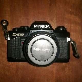 Minolta X570 Film SLR