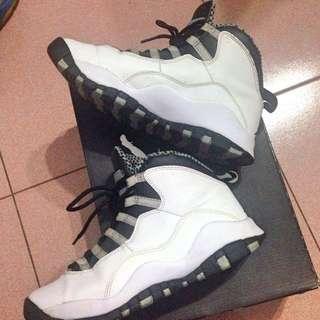 (⚡️降)Nike Air Jordan10代黑白經典