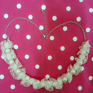 🎀【日系珍珠造型项鏈】