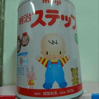 日本明治2階奶粉