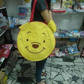維尼塑膠大包包