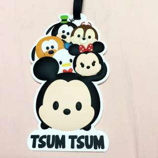 香港潮牌chocolate 限量TUSM TSUM行李吊牌