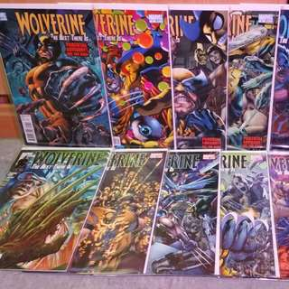 Marvel Wolverine Best There Is #1-12 Comic Book Set