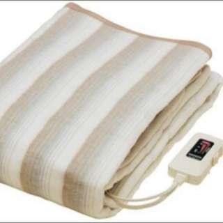 全新日本公司貨 NAKAGISHI電熱毯 雙人毛毯 188×130cm NA-013K
