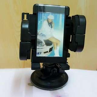 【PRESS多功能360°手機架+360°相框】