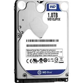 """WD Blue WD10JPVX 1TB 2.5"""" SATA HDD"""