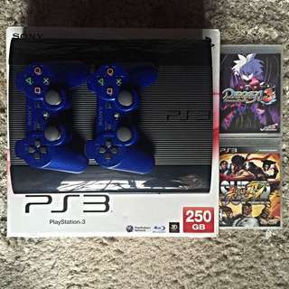 PS3 250GB + 2 Free Games