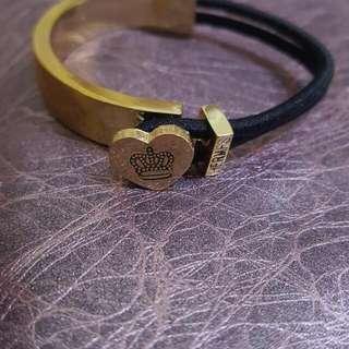 全新 皇冠 彈性 金屬 手環