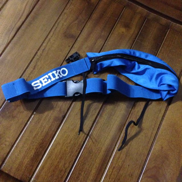 2014 SEIKO12.5k完賽禮號碼布腰包