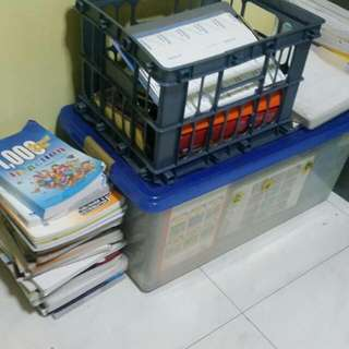 Lots Of Textbook And Workbook For Sale