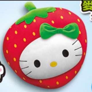 麥當勞仲夏農場草莓抱枕