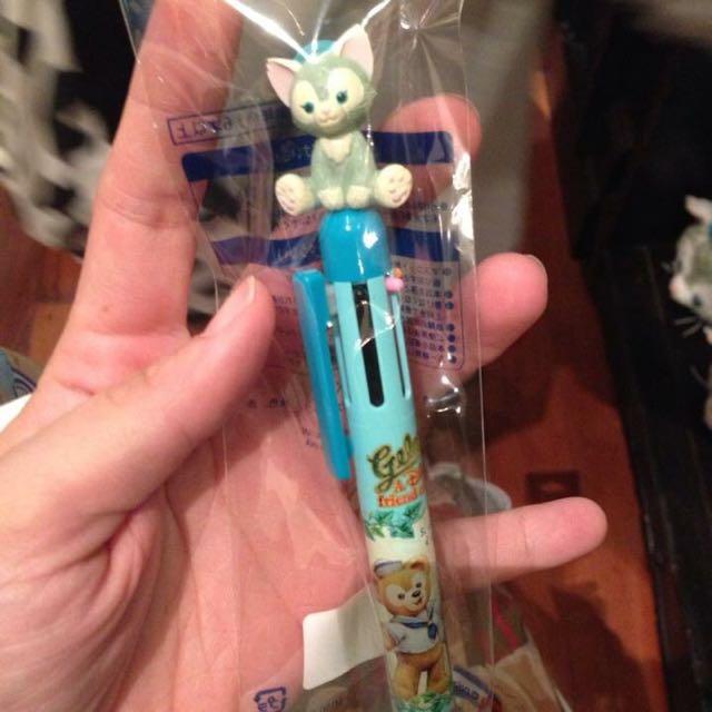 日本迪士尼畫家貓5色筆✨