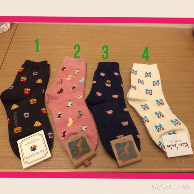 (保留)韓國購入長襪