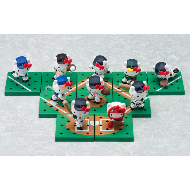 全新正版 日本限定 MLB HELLO KITTY 公仔 棒球 職棒