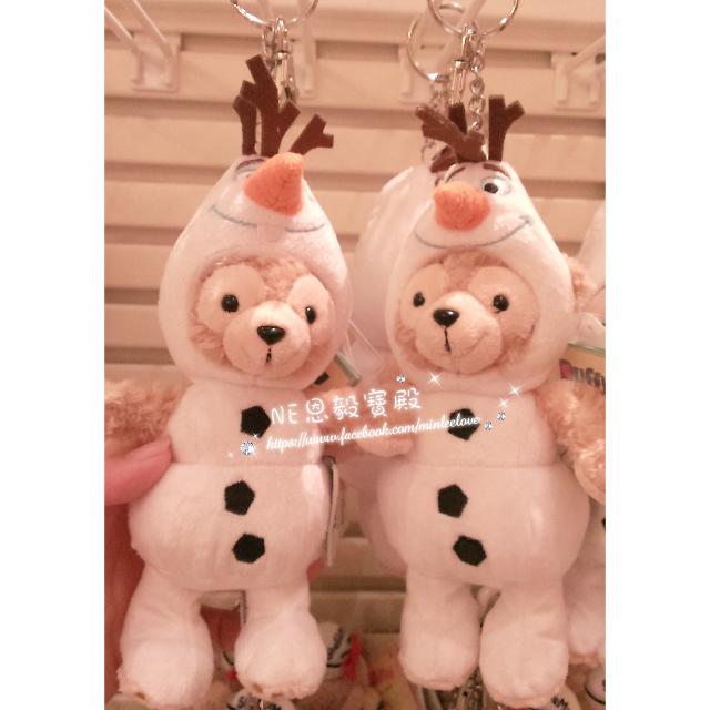 已售完♡香港迪士尼 Duffy 達菲雪寶裝娃娃吊飾 鑰匙圈