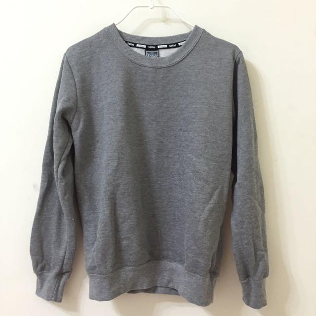 灰色刷毛衛衣 S號