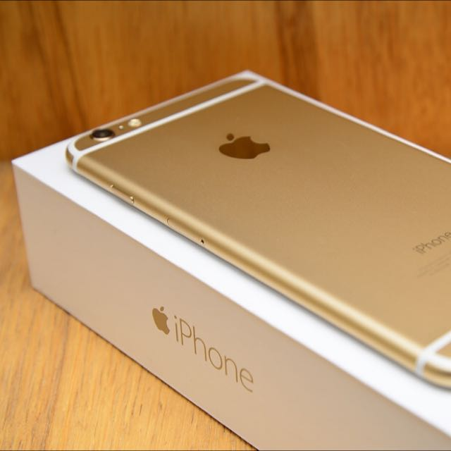 iPhone 6 Plus 64G 金 保固到明年六月