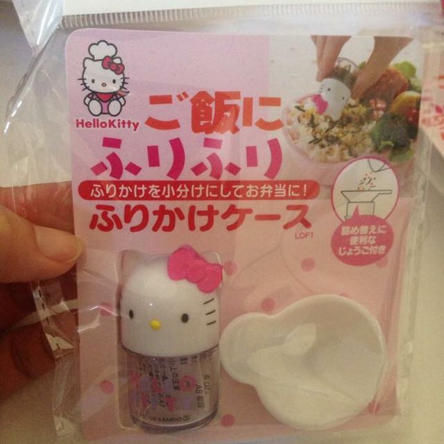 Kitty造型 香鬆粉灑灑容器