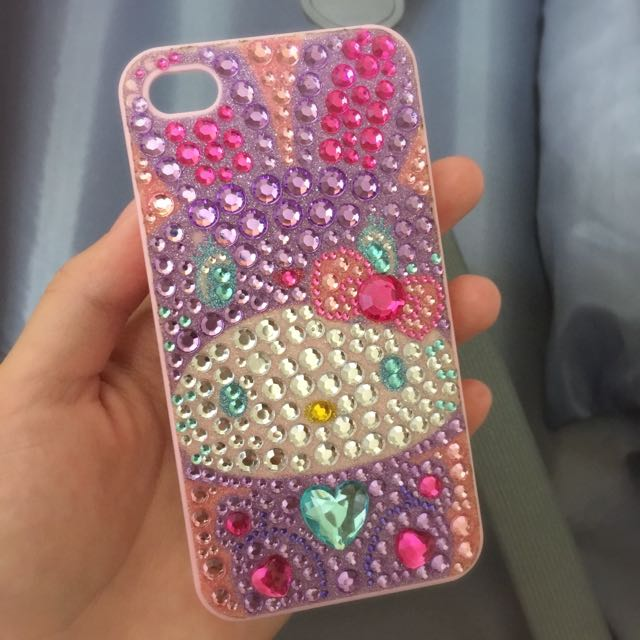 KittyxRody水鑽手機殼 Iphone4