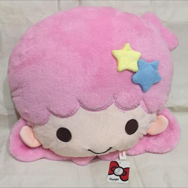 《全新》大!雙子星LaLa頭枕娃娃32cm