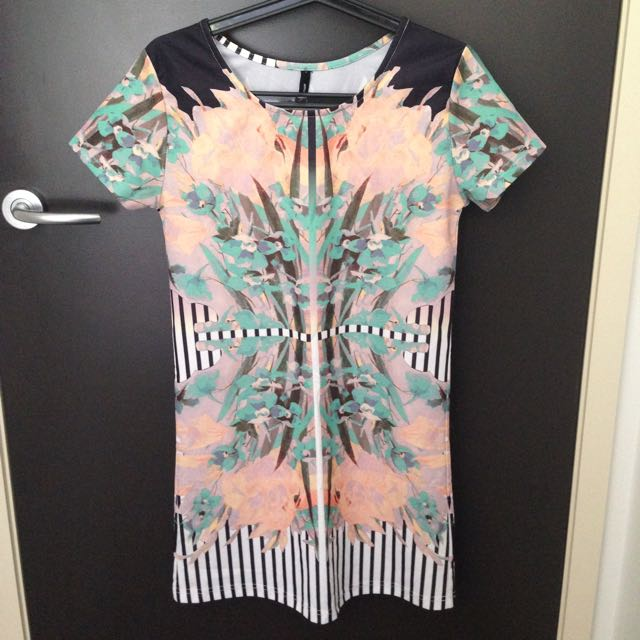 Symmetry Shift Dress