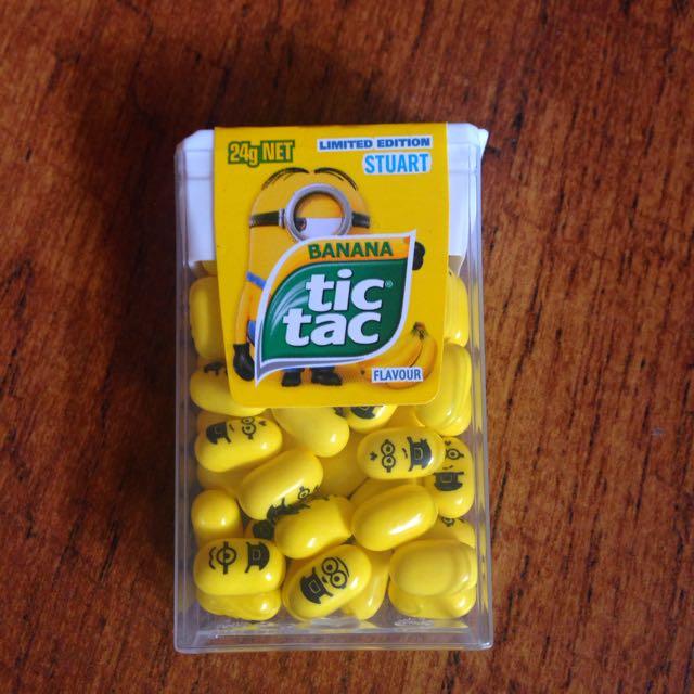 小小兵Tic Tac 香蕉糖