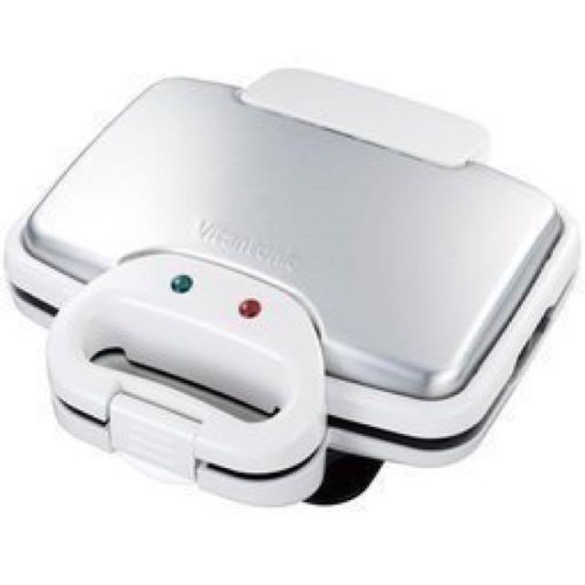 全新日本公司貨Vitantonio VWH-110-W 鯛魚燒機/鬆餅機/三明治機/附三款底盤