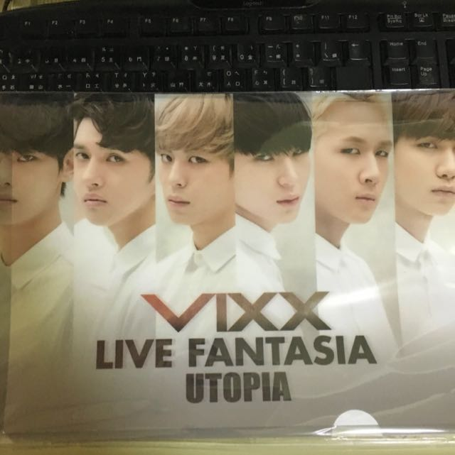 VIXX Live Fantasia  Utopia 資料夾