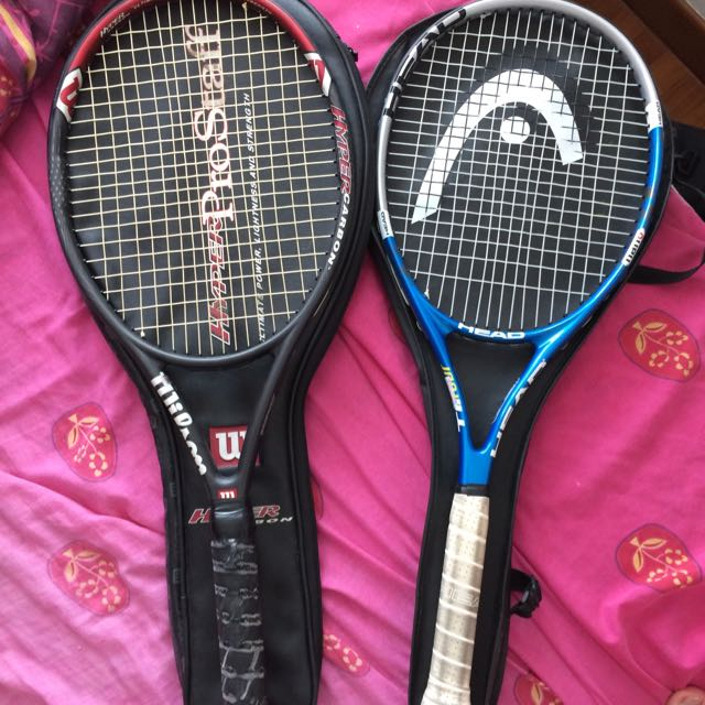Wilson And Head Tennis Racquets