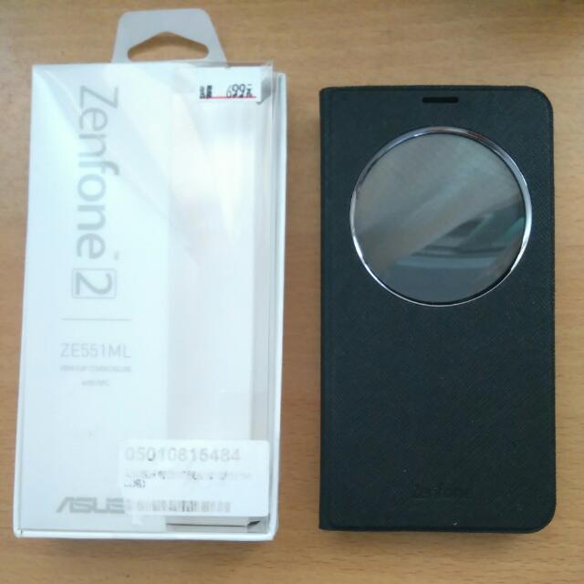 Zenfone 2 專屬原廠感應皮套 9成新